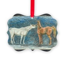 ArabianPairPCard Ornament
