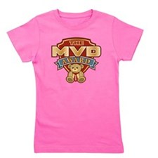 Most Valuable Dad Award Girl's Tee