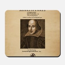 First_Folio-Square-Large Mousepad
