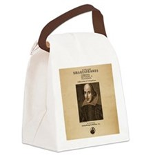 First_Folio-Square-Large Canvas Lunch Bag