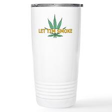 timsmokeorangewh Travel Coffee Mug