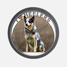 blueheelerwh Wall Clock