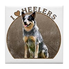 blueheelerwh Tile Coaster