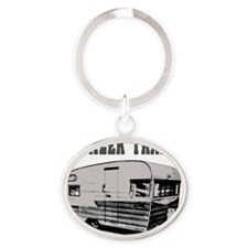 trailertrashwh Oval Keychain