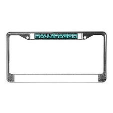 ballybacon borg blue License Plate Frame