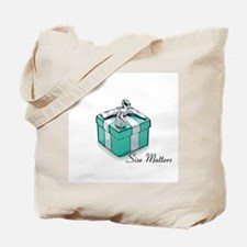 Blue Box Tote Bag