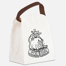 makinbaconwh Canvas Lunch Bag