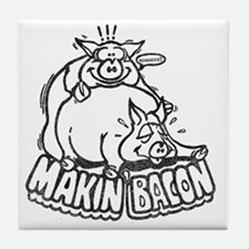 makinbaconwh Tile Coaster
