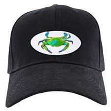 """Neon"" Blue Crab Baseball Hat"