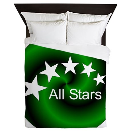 All Stars Button Queen Duvet