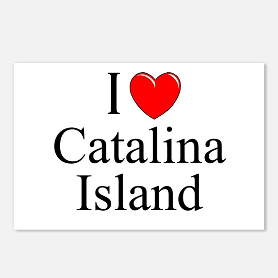 """""""I Love Catalina Island"""" Postcards (Package of 8)"""