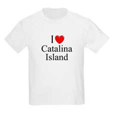 """I Love Catalina Island"" Kids T-Shirt"