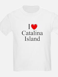 """I Love Catalina Island"" Kids T-Shirt"