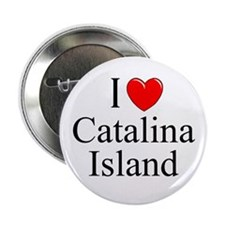 """I Love Catalina Island"" Button"