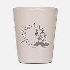 bowl104dark Shot Glass