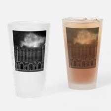 detroitTrainStation Drinking Glass