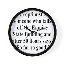 optimist-empire3 Wall Clock