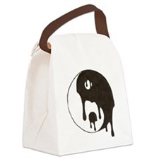 YinYang Canvas Lunch Bag