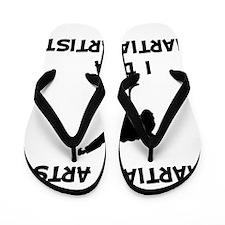 Do Martial Artist Black Flip Flops