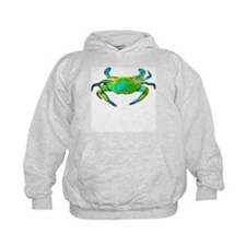"""Neon"" Chesapeake Bay Blue Cr Hoodie"