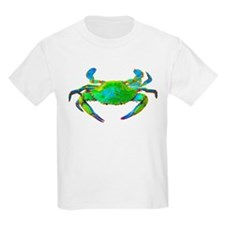 """Neon"" Chesapeake Bay Blue Cr Kids T-Shirt"