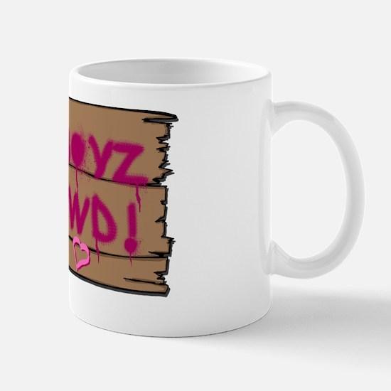 Q T Pi Club Back (high res) Mug