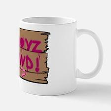 Q T Pi Club Back (high res) Small Small Mug