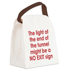 tunnel2 Canvas Lunch Bag