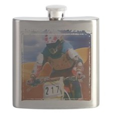 Motocross man Flask