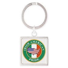 irish american pride Square Keychain