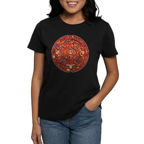 MAYAN CALENDAR Women's Dark T-Shirt