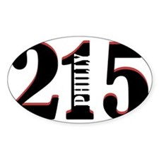 Philadelphia 215 Decal