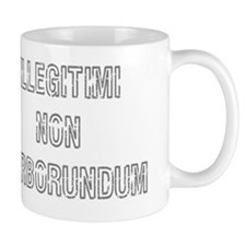 dontletthebastards_grey Mug