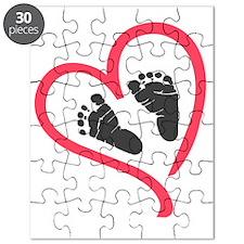 baby feet heart Puzzle