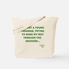 Young Padawan PNG Tote Bag