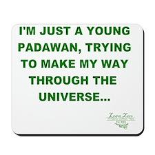 Young Padawan PNG Mousepad