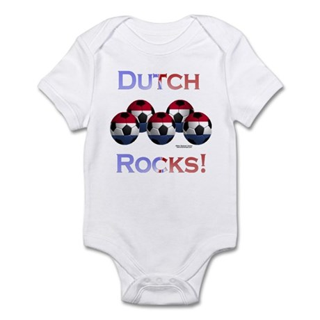 Dutch Football Rocks Infant Bodysuit