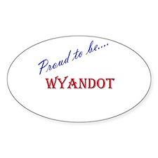 Wyandot Oval Decal