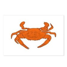 Steamed Crab Logo Postcards (Package of 8)