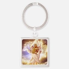 Seraph Angel Square Keychain