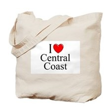 """I Love Central Coast"" Tote Bag"