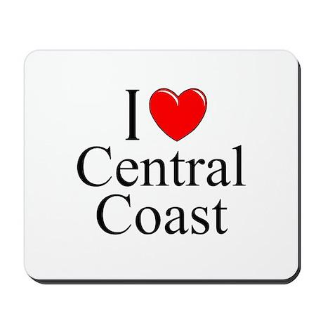 """""""I Love Central Coast"""" Mousepad"""