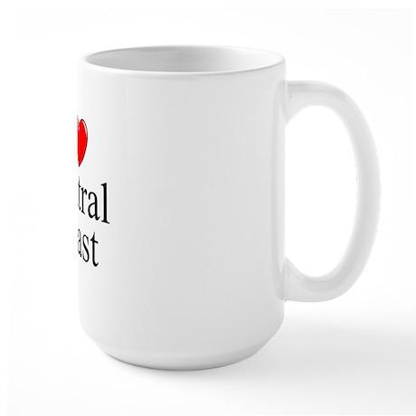 """I Love Central Coast"" Large Mug"