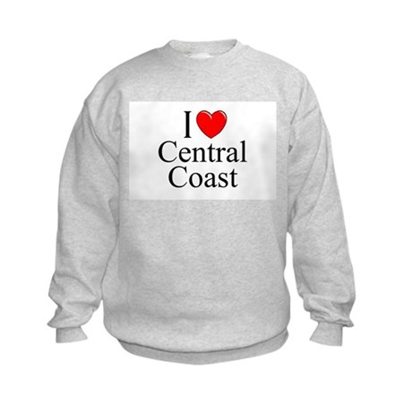 """I Love Central Coast"" Kids Sweatshirt"