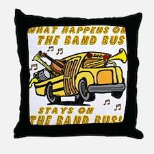 bandbus2000wh Throw Pillow