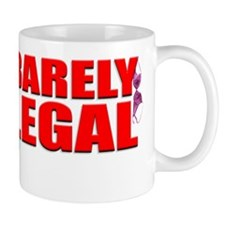 BARELY_ShirtFront Mug