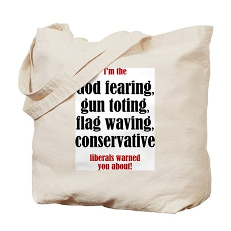 Conservative List Tote Bag