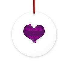 Mer+Der Round Ornament