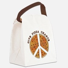 pizzachance2wh Canvas Lunch Bag