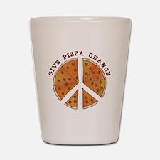 pizzachance2wh Shot Glass
